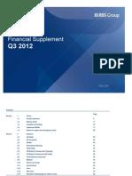 Financial Supplement 11 2012