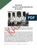 SEJARAH MUHAMMADIYAH KUDUS