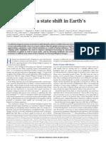 Earth Biosphere Shift