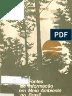 Fontes de informação em meio ambiente no Brasil