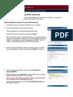 SPSSv20 UMD Instructions