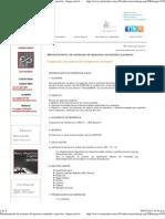 Mantenimiento de sistemas de aparatos sometidos a presión - Inspección de soldura en recipientes a presión