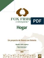 CAMAS, COJINES Y TELAS POR METROS ECOLÓGICOS (nuevo catálogo de Fox Fibre)