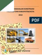 Buku Indeks Kemahalan Konstruksi Provinsi Dan Kab_kota 2010
