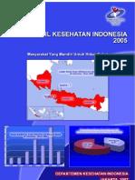 Profil Kesehatan Indonesia 2005