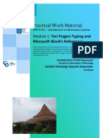 Practical Work Material - Introduction to Information Systems