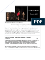 spch 2210 - readers theater