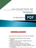 SESION N° 03. DERECHO COLECTIVO DE TRABAJO USMP