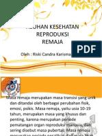 Asuhan Kesehatan Reproduksi Remaja