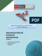 ORGANIZACION DE EVENTOS - MÓDULO II - SEMANA 4