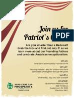 Patriot Camp 2