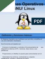 Sistema Operativo GNU Linux