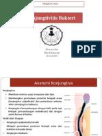 konjungtivitis bakterial ppt