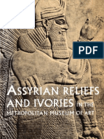 Assyrian Reliefs and Ivories in the Metropolitan Museum of Art Palace Reliefs of Assurnasirpal II An