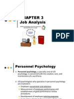 Chapter 3 Job Analysis