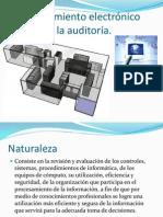 El procesamiento electrónico de datos y la auditoría-a
