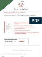 Effect of Piperine on lipid profile in Non Transgenic Mice