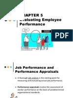 Chapter 5 Performance Appraisal