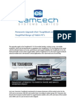 Panasonic Upgrade Their ToughBook and ToughPad Range of Tablet PC