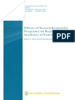 Davis - Effects of Second Responder Programs on Repeat Incidents of Family Abuse - CSR
