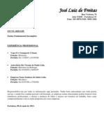 Currículo José Luiz