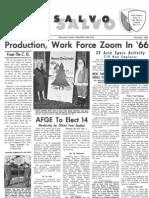 Dec. 1966 Salvo (Watervliet Arsenal newsletter)
