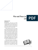 War and Peace in British Liter