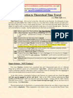Introduction to Theorethical Time Travel