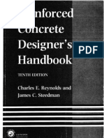 Reinforced Concrete Designers Handbook