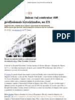Indic@_ Hospital das Clínicas (HUCAM) vai contratar 440