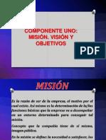 mision,visión y objetivos