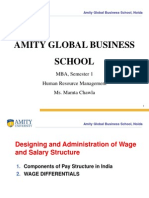 MOD.4-India-Wage and Salary Structure