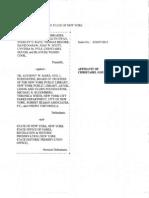 Christabel Gough Affidavit