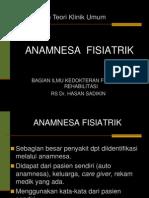 ANAMNESA FISIATRIK