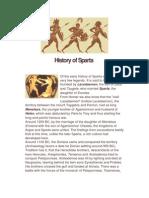 History of Sparta
