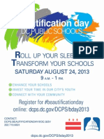 2013-Beautification Day Flier