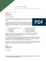 Internship Application Letter (Revised for Mechanics)