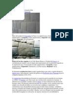 Piedra 12 Angulos