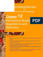 Negotiations and Diplomacy