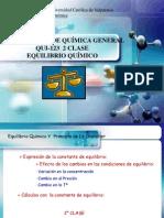Qui-123 Equilibrio Quimico 2 Clase