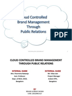 Cloud Controlled Brand Management