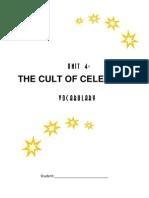 Unit 4 the Cult of Celebrity Wordlist