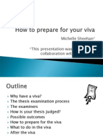 How to Prepare for Your Viva