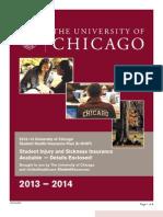 UChicago USHIP Plan Summary 2013-14