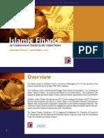 Program Booklet - Islamic Finance Conference 2013