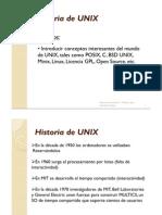 Historia de UNIX