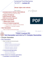 Grid Generation and Intro to FV Complex Geometries