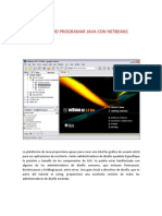 16600726 Guia Como Programar Java Con Netbeans PDF