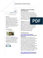 CAHYP July 2013 Newsletter