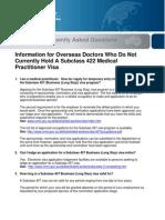 Faq Overseas Doctors